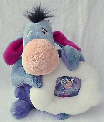 Official Disney Store Exclusive Eeyore Cloud Photo Frame Soft Plush Toy Beanie