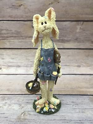 Boyds Critter & Co Resin Rabbit Figurine E.B. Flopsy Easter Bunny #36719