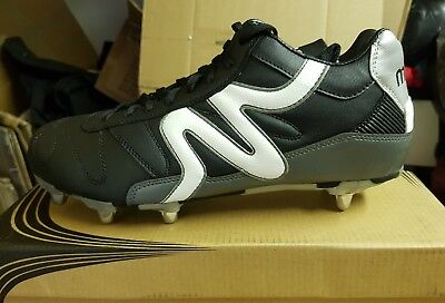 Mitre Rugby Boots  Black UK Size 11, Ref S81