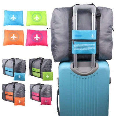 Foldable Handbag Travel Luggage waterproof Nylon Large Capacity Storage Bag