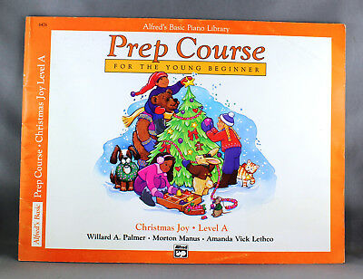 Alfred's Basic Piano Library Prep Course Christmas Joy Level A - Brand New
