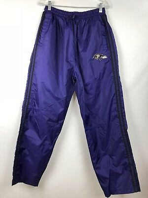 VINTAGE 90s Baltimore Ravens Wind Breaker PANTS UNIQUE SPORTS GENERATION NFL L