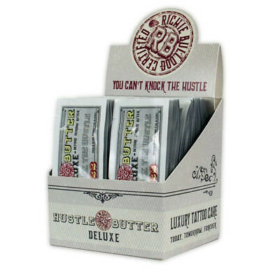 Hustle Butter Deluxe Tattoo Aftercare Ointment Vegan Individual Packs