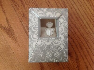 """Margaret Furlong GIFT ANGEL 3"""" Ornament w/ Box ~ 1991 Made in USA"""