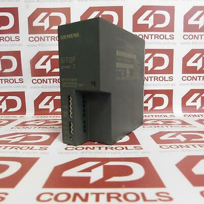 Siemens 6EP1 331-2BA00 Power Suppy 2A 120/230VAC 24VDC - Used