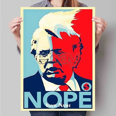 Trump Dope Nope Custom Poster Print Art Wall Decor 24x36 Inch