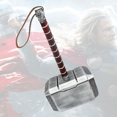 Movie Marvel Avengers Thor The Dark World Hammer Mjolnir 1:1 Resin Cosplay Props