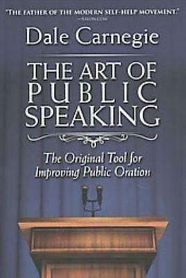 The art of public speaking communication standalone book 1377 the art of public speaking carnegie dale new book fandeluxe Images