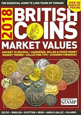 British Coins Market Values 2018 New Paperback Book