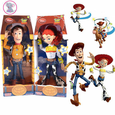 TOY STORY WOODY JESSIE DOLL SOUND ACTION FIGURE FIGURINES Kind Spielzeug Gifts