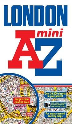 Mini London Street Atlas by Geographers' A-Z Map Company New Paperback Book
