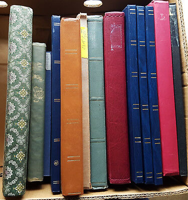 13 steckbücher Book Stockbook of up to Used