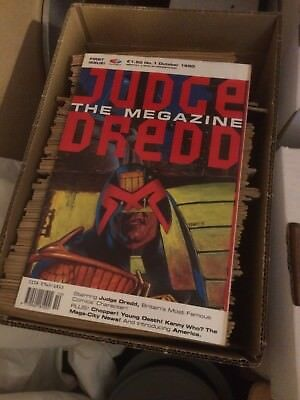 Judge Dredd - The Megazine Collection Complete from issue 1, with many gifts
