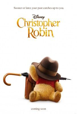Christopher Robin Poster  ***sale***  D/s 27 X 40   New Authentic Studio Poster
