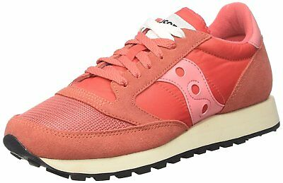 Saucony Women's Jazz O Vintage Cross Trainers, Red Red, 6.5 UK