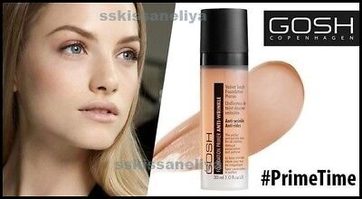 GOSH Velvet Touch 30ml Foundation Primer Anti-Wrinkle- Perfect Base for Make-Up
