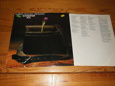 Wolfgang Ambros - Schaffnerlos / Germany-Lp (Ex) 1978 & Inlet