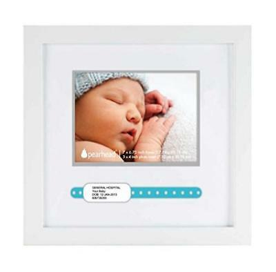 """Maven Gifts: Pearhead ID Bracelet Frame, White and Pearhead """"My Little Prints"""" F"""