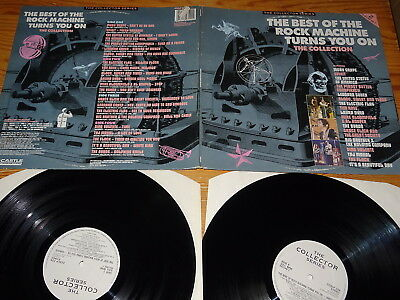 The Best Of The Rock Machine Turns You On - V.a. / Uk  2-Lp-Set 1989