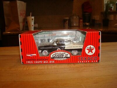 1997 Gearbox Limited Texaco Black 1955 Chevy Belair Pedal Car #12 145/9600