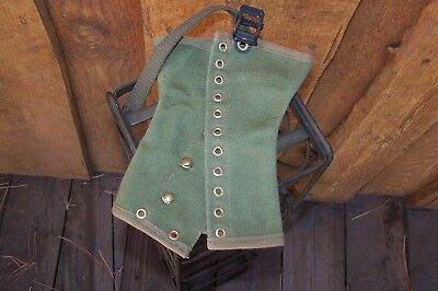 Vintage Green Boy Scout  Medium Boot Leggins