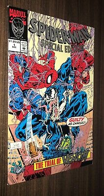 SPIDER-MAN SPECIAL EDITION #1 -- Trial of Venom (Unicef) -- VF/NM Or Better