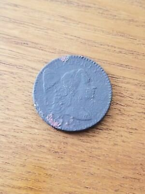 1794 Large Cent,head Of 1794,224 Year Old Coin!