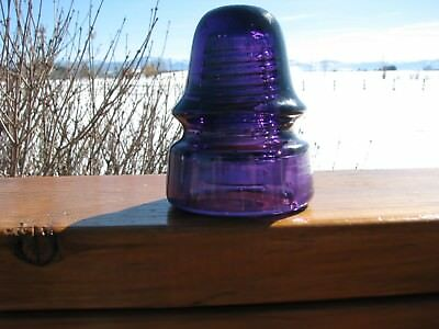 Royal Purple Tall Dome Signal Style Insulator