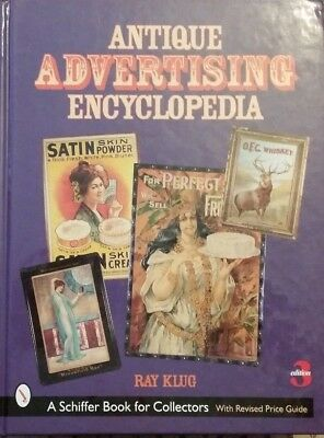 Antique Advertising Encyclopedia Value Guide Collector's Book RAY KLUG
