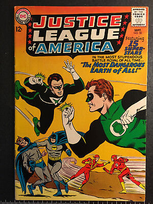 Justice League of America Lot 26, 27, 28, 30, 31 Very Good - Very Fine/Near Mint