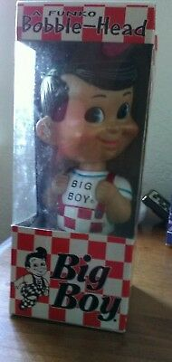 NEW IN BOX, 2001 Collectible BOB'S BIG BOY  Funko Bobblehead Nodder MINT