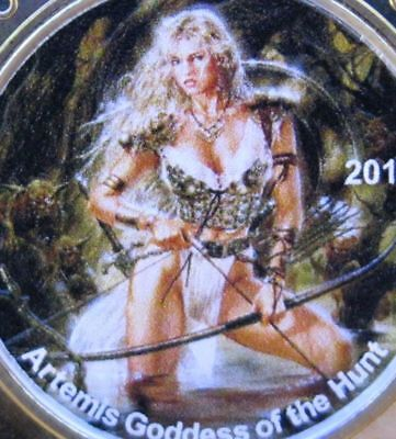 NEW ISSUE 4 QUEENS *HUNT* RED CAP SILVER COLORIZED Mintage: 500 .999 SILVER