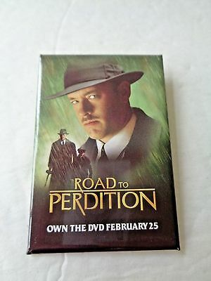 "Road To Perdition ~ Tom Hanks ~ ""own The Dvd February 25"" Pin"