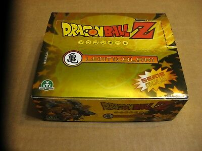 1989 Dragon Ball Z Gold Series Edition 24 pack Trading Card Box Lenticolor Toei