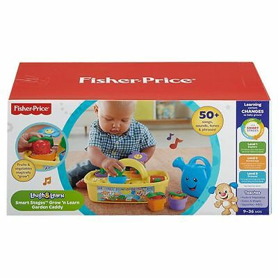 NEW Fisher-Price Laugh & Learn Smart Stages Garden Caddy