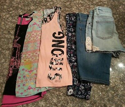 Girls Summer Clothes Lot size 14/16
