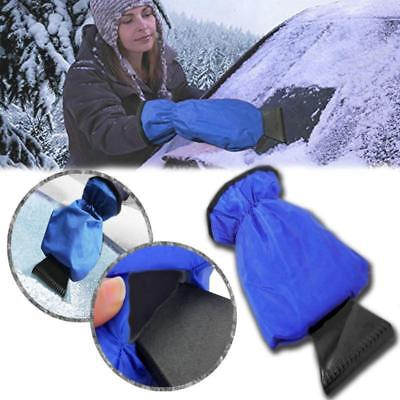 Useful Car Snow Ice Shovel Scraper With Lined Glove Removal Clean Tool New Y