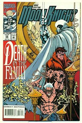 Moon Knight 58 NM high grade Death in the Family SPLATT 1994 Marvel Comics