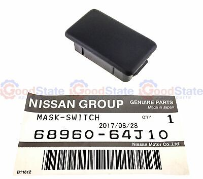 Genuine Nissan Skyline R33 R34 35x21 Dash Blank Switch Cover Cap Trim Plug Plate