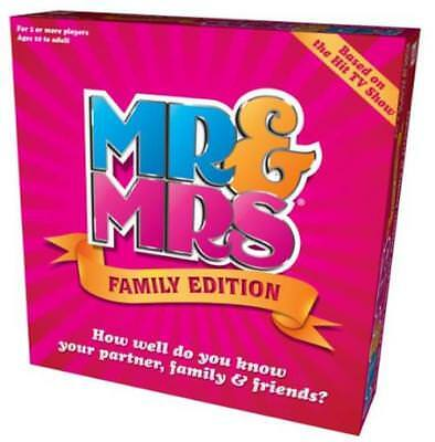 Mr & Mrs Family Edition Box Game Couples 1,000 Questions True Or False Adults