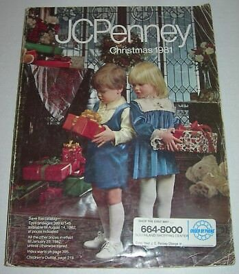 1981 JC Penney Christmas Catalog Star Wars Remco Universal Monsters Mego CHIPS