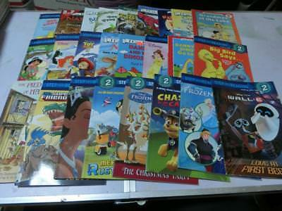 Lot 25 Early Readers, Level 1, 2, , Step Into Reading, I Can Read