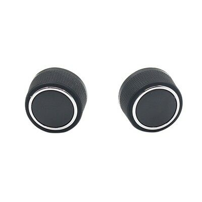 2 Pcs Replacement Rear Radio Audio Volume Control Knob for Chevrolet GMC WS