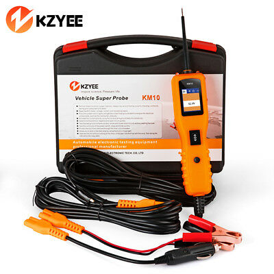KZYEE KM10 12V PowerScan Car Automotive Electrical System Circuit Tester