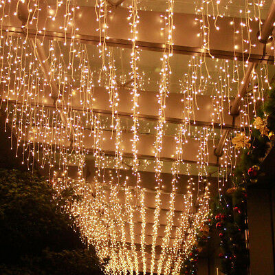 Fairy String Lights 500 LED Garden Xmas Outdoor Decoration Warm White AU