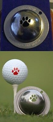 1 only TIN CUP GOLF BALL MARKER-TRAIL BLAZER - BUY ANY 2  CUPS get special offer