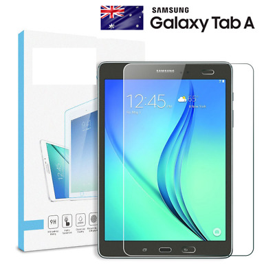 "Tempered Glass Screen Protector SAMSUNG TABLET TAB A 7 8 T350 9.7"" TAB A 8"" 2017"