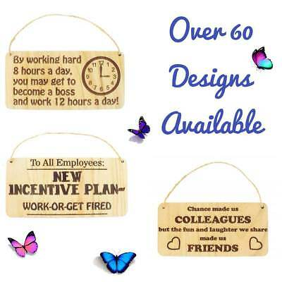 Chance Made Us Colleagues Heart Plaque Sign FRIEND FRIENDSHIP  Gift Thank You
