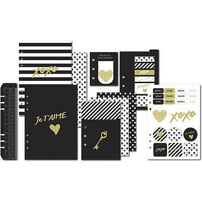 Debden DayPlanner Refill (Personal Size) Je T'aime Accessories Pack PR-PACK06