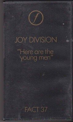 Joy Division VHS Here Are The Young Men FACT37